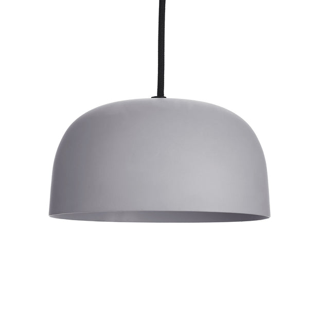 Murguma pendant lamp, light grey, 100% metal