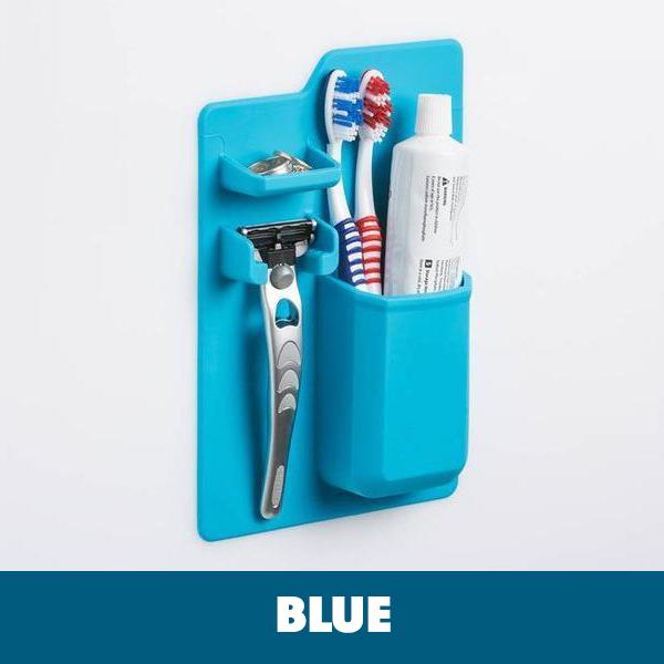 Stick and Firm Silicone Toothbrush Holder