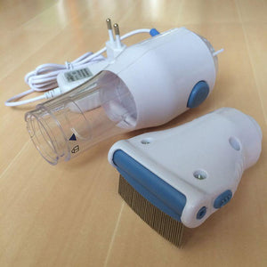 Electric Vacuum Pet Lice Comb