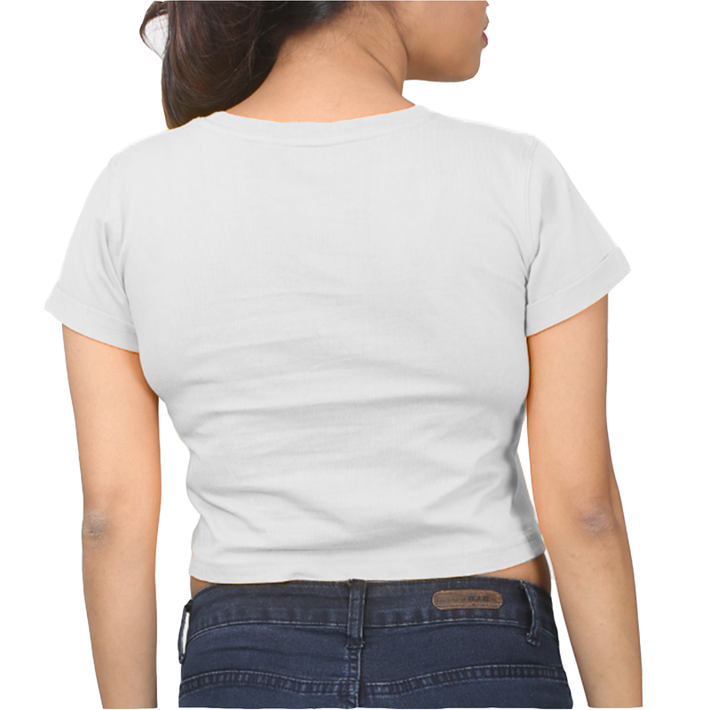 Like A Boss | Cotton Crop Top