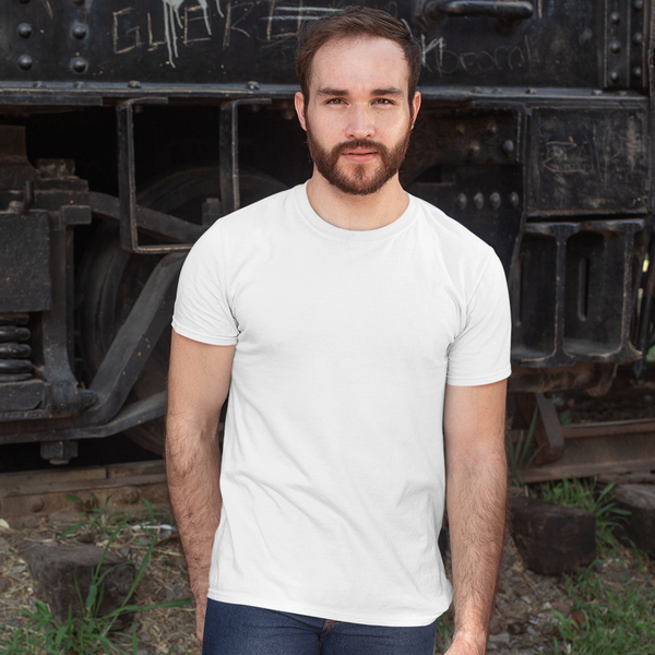 Plain White Half Sleeve T-Shirt