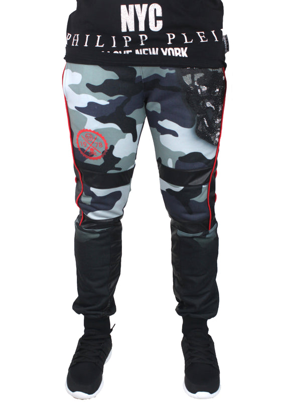Philipp Plein MJT0171 Raitaro CM99 Sweat Pants - Style Centre Wholesale