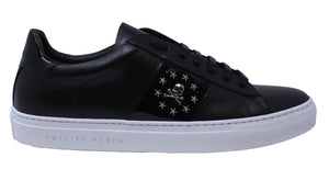 "Philipp Plein MSC1580 02 ""Edwo"" Black Sneakers - Style Centre Wholesale"