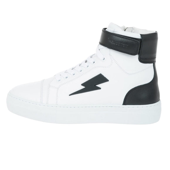 Neil Barrett PBCT283 H9022 526 High-Top Sneakers