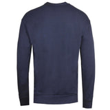 Diesel S-SAMY Peeled Box Logo Navy Sweatshirt