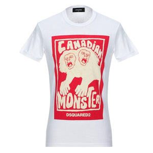 Dsquared2 S71GD0751 S20694 100 White T-Shirt