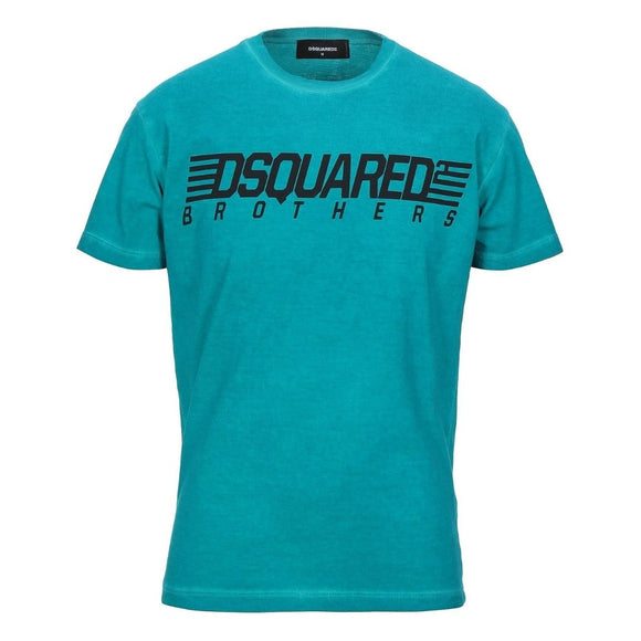 Dsquared2 S71GD0807 S20694 659 Cool Fit Green T-Shirt