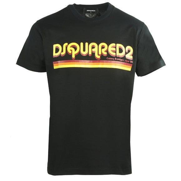 Dsquared2 Cool Fit S71GD0887 S22427 900 Black T-Shirt