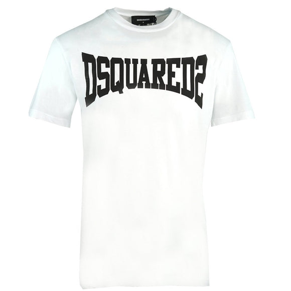 Dsquared2 Cool Fit S71GD0918 S21600 100 White T-Shirt