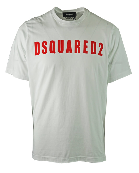 DSquared2 S74GD0472 S20694 100 T-Shirt - Wholesale Designer Clothing