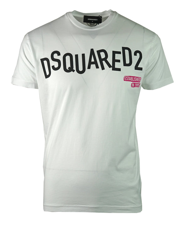 DSquared2 S74GD0501 S22427 100 T-Shirt - Wholesale Designer Clothing