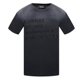 Dsquared2 Cool Fit S74GD0640 S21600 900 Black T-Shirt