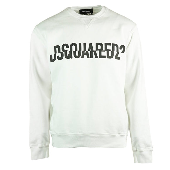 Dsquared2 S74GU0331 S25030 100 Cool Fit White Sweatshirt