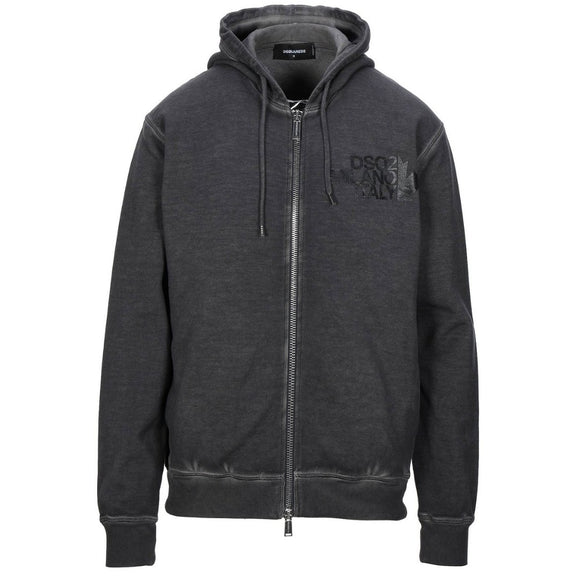 Dsquared2 Cool Fit S74HG0067 S25030 816 Grey Hoodie