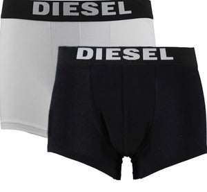 Diesel UMBX-ROCCO 23 Boxer Shorts Two Pack - Nova Designer Clothing Luxury Mens