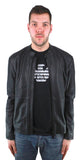 Emporio Armani W1B50P W1P52 999 Leather Jacket - Nova Designer Clothing Luxury Mens