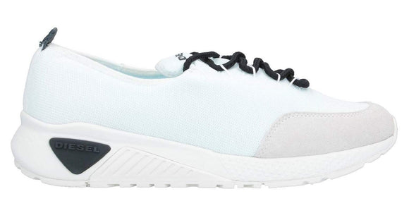 Diesel S-KBY Off White Low Cut Sneakers - Wholesale Designer Clothing