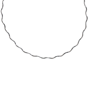 Wavy Chain Sterling Silver
