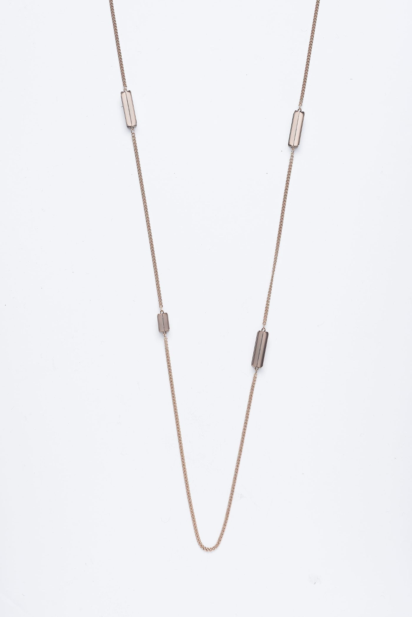 Droplet Necklace Champagne