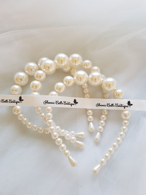 Mother of all pearls headband