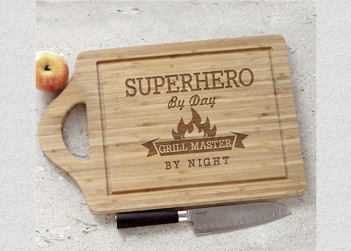 Easy Carry Personalized Cutting Board