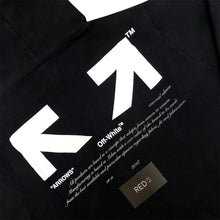 "Load image into Gallery viewer, Off White ""For All"" Collection ""03"" Hoodie Black"