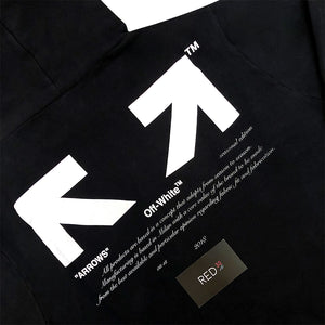 "Off White ""For All"" Collection ""03"" Hoodie Black"