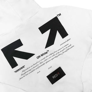 "Off White ""For All"" Collection ""03"" Hoodie White"