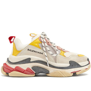 Balenciaga Triple S Cream Yellow Red