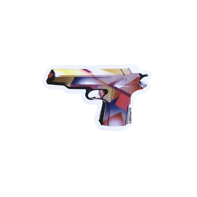 Supreme Mendini Gun Sticker