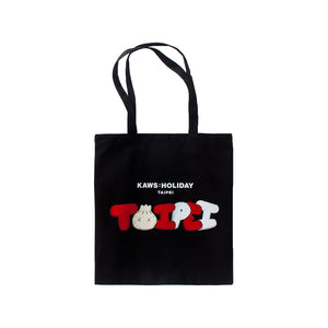 "Kaws Holiday Limited Tote Bag Red ""TAIPEI"""