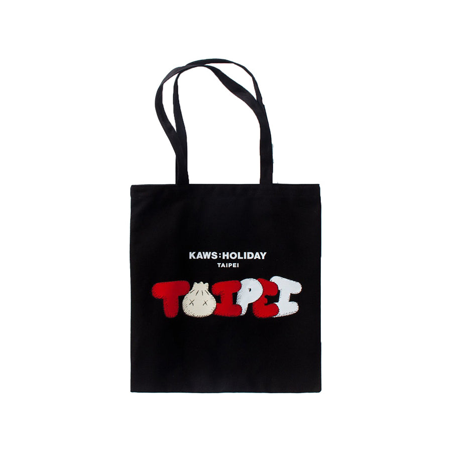 Kaws Holiday Limited Tote Bag Red