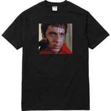Load image into Gallery viewer, Supreme Scarface™ Shower Tee Black