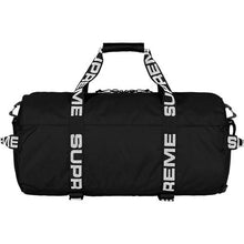 Load image into Gallery viewer, Supreme SS18 Duffle Bag Small Black