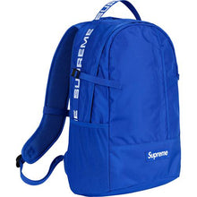 Load image into Gallery viewer, Supreme SS18 Backpack Blue
