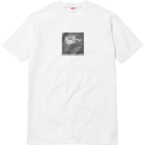 Supreme Chair Tee White