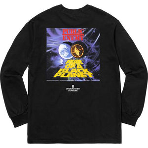Supreme®/UNDERCOVER/Public Enemy Counterattack Long Sleeve Tee Black