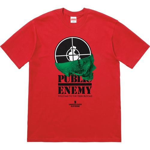 Supreme®/UNDERCOVER/Public Enemy Terrordome Tee Red