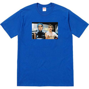 Supreme Nan Goldin/Supreme Misty and Jimmy Paulette Tee Blue