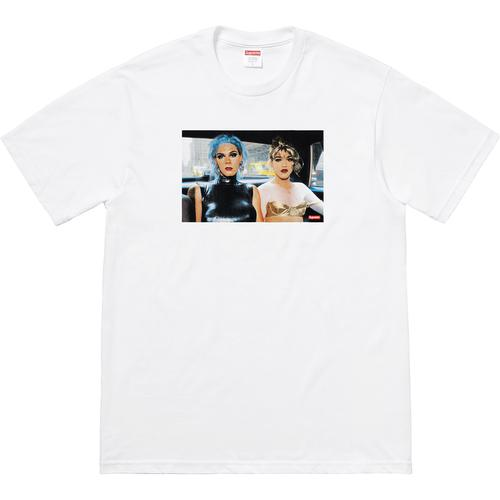 Supreme Nan Goldin/Supreme Misty and Jimmy Paulette Tee White