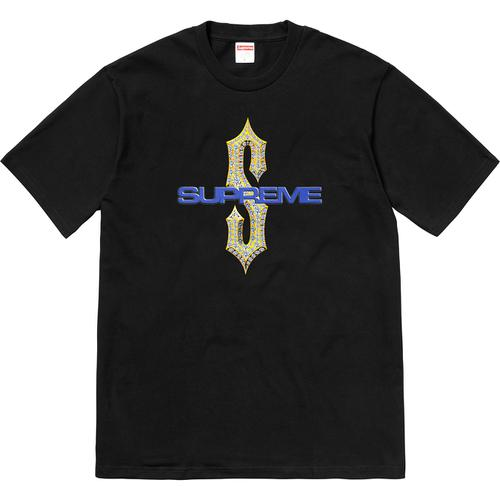 Supreme Diamonds Tee Black