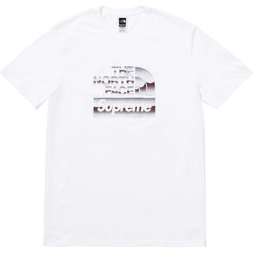 Supreme®/The North Face® Metallic Logo T-Shirt White