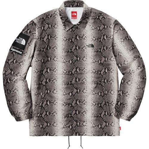 Supreme®/The North Face® Snakeskin Taped Seam Coaches Jacket Black