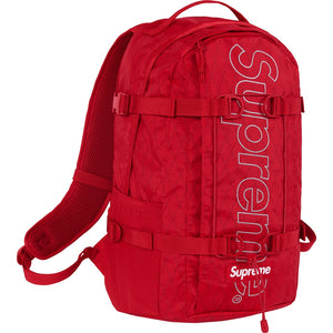 Supreme FW18 Backpack Red
