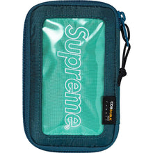 Load image into Gallery viewer, Supreme FW19 Small Zip Pouch Teal