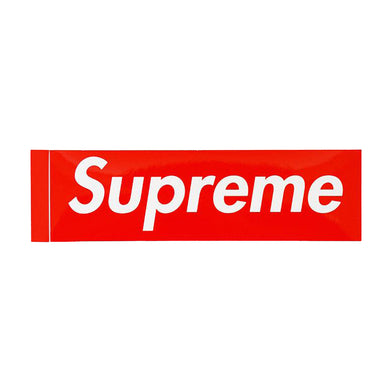Supreme Classic Box Logo Sticker