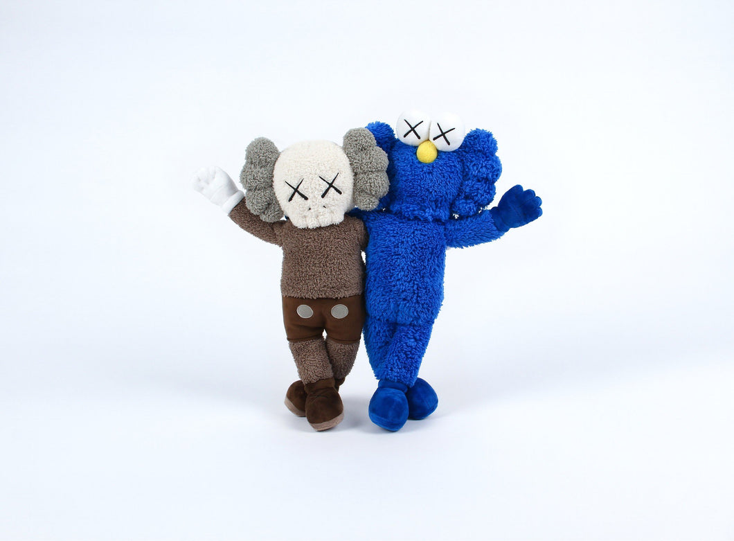 Kaws Seeing/Watching Plush Grey/Blue