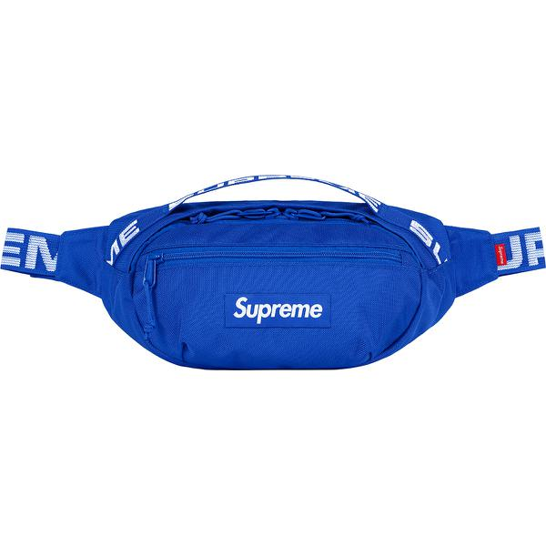 Supreme SS18 Waist Bag Blue