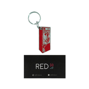 Supreme Payphone Keychain Red
