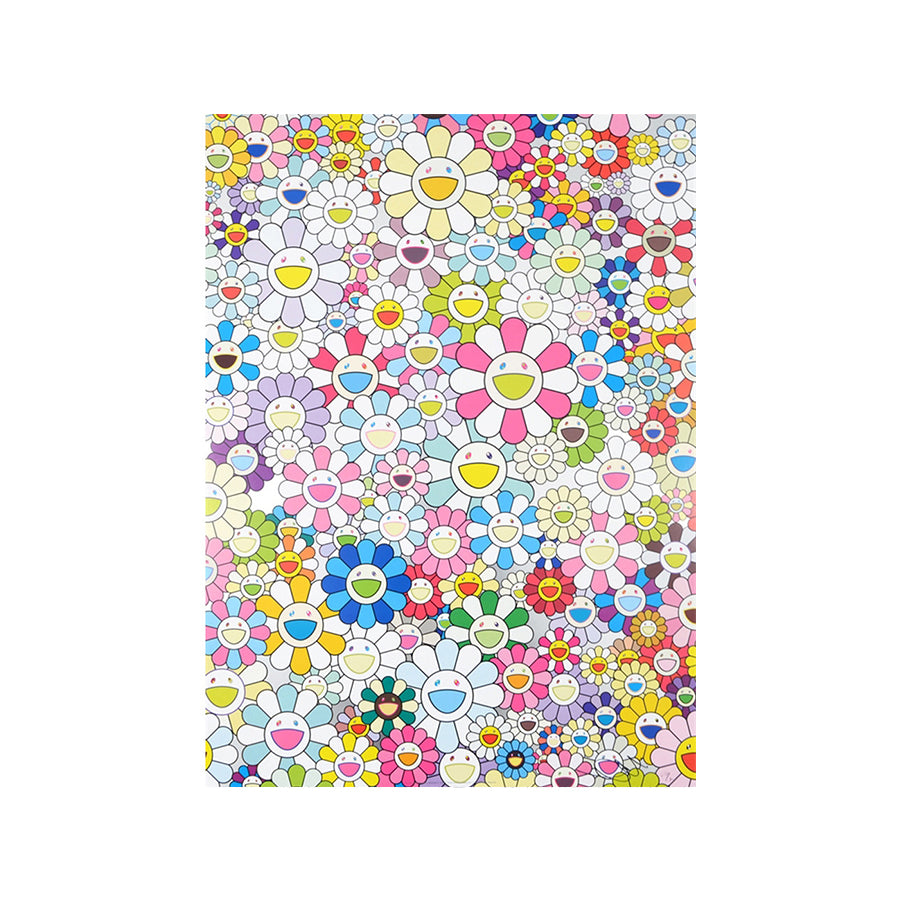 Takashi Murakami - An Homage to Yves Klein, Multicolor C, 2012